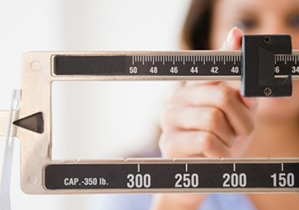 Being overweight can make it take longer to get pregnant in both men and women.