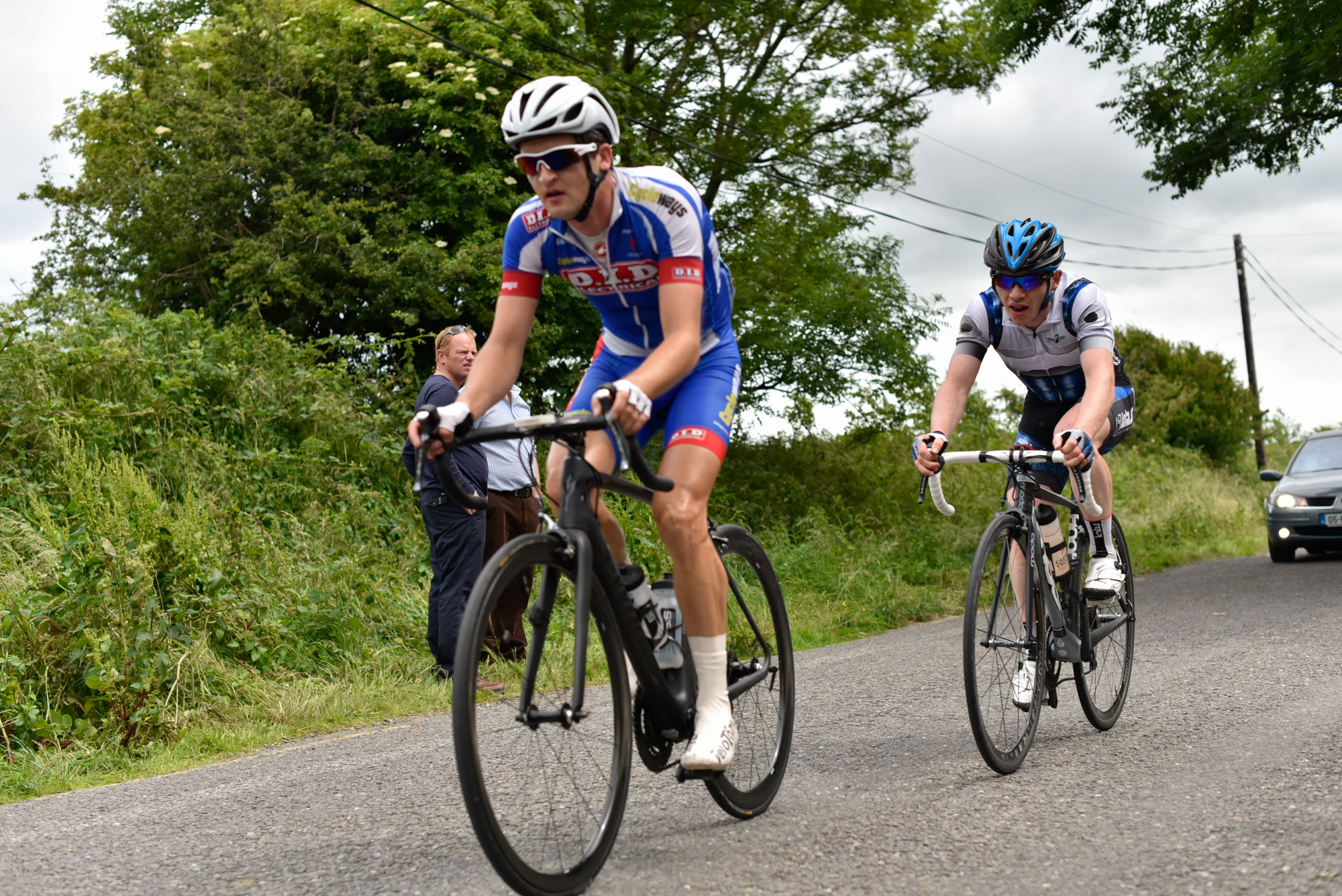 Mark Dowling and Daire Feely pushing out their lead