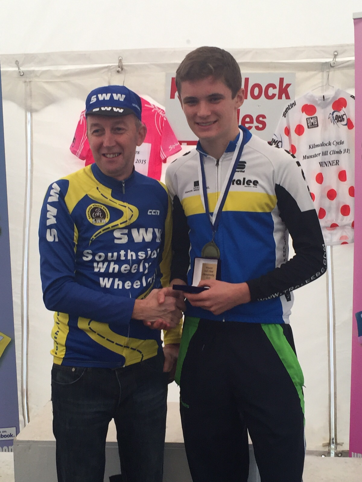 Oran Pierse, Junior Munster Hill Climb Champion 2015