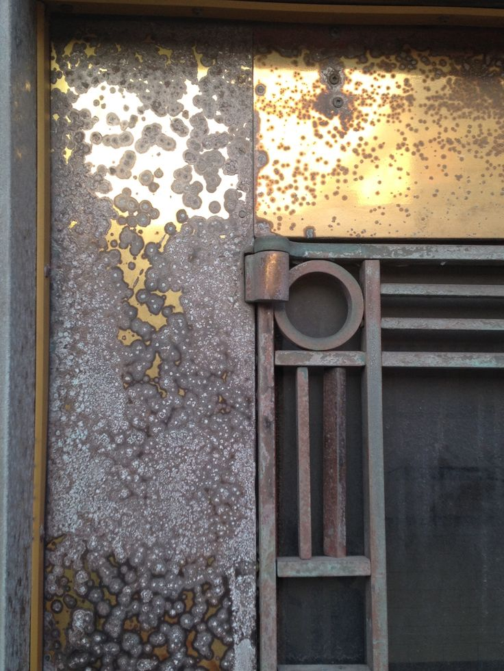 Patinated Brass