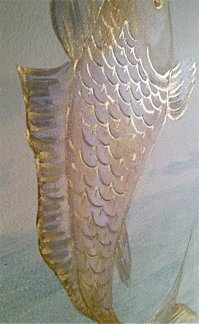 Detail of Gilded Scales....