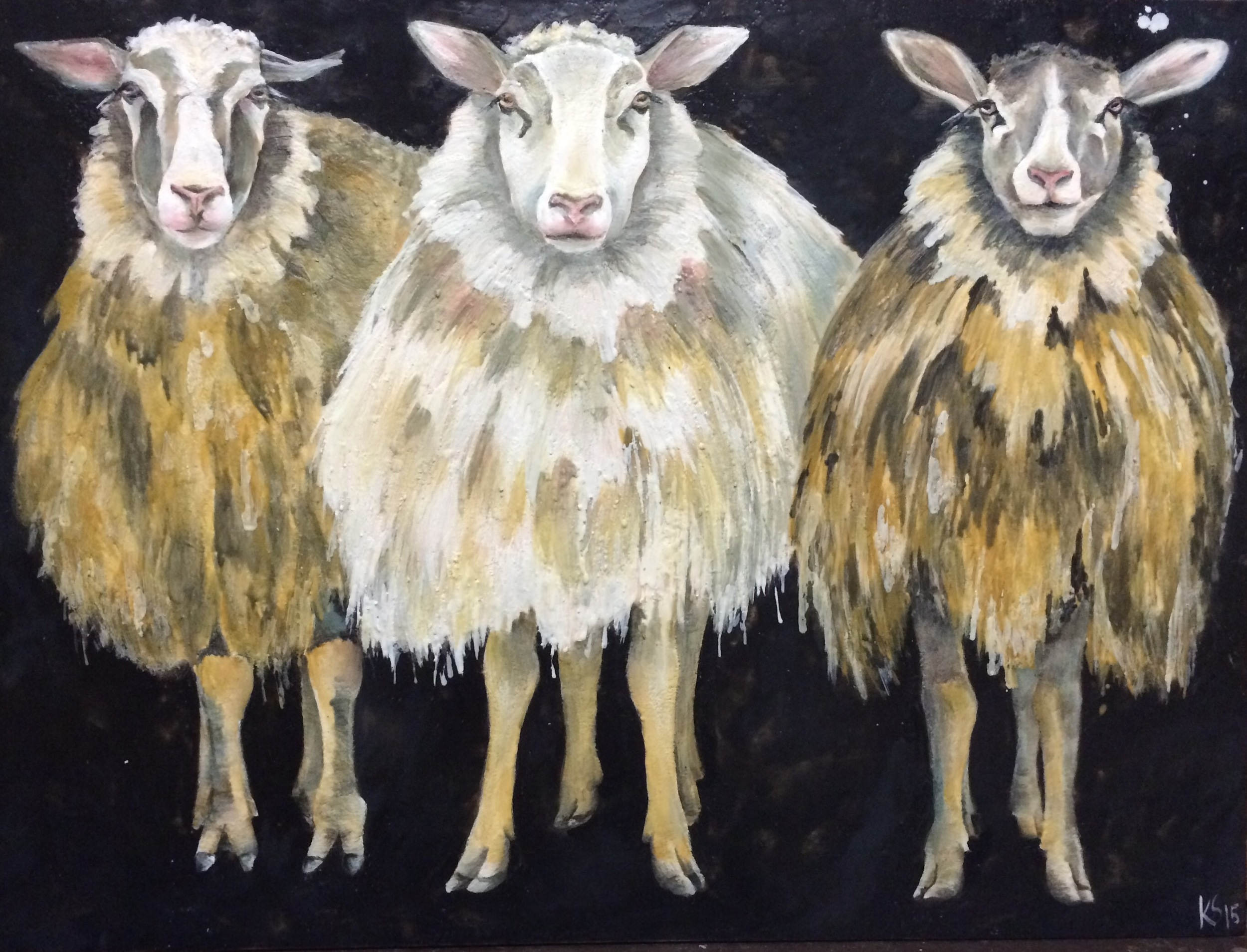 The Three Graces SOLD