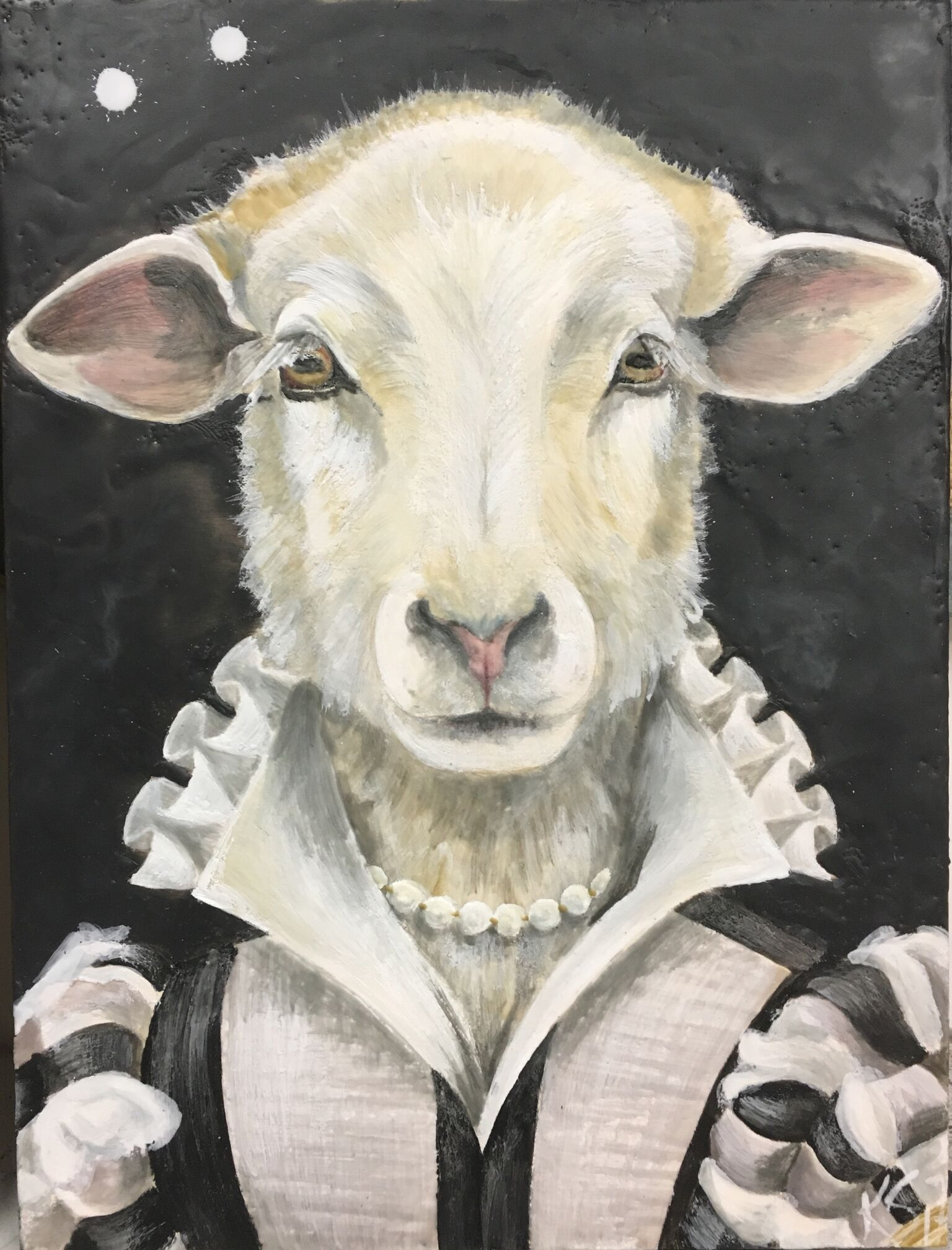 The Lavender Lamb 2017 SOLD