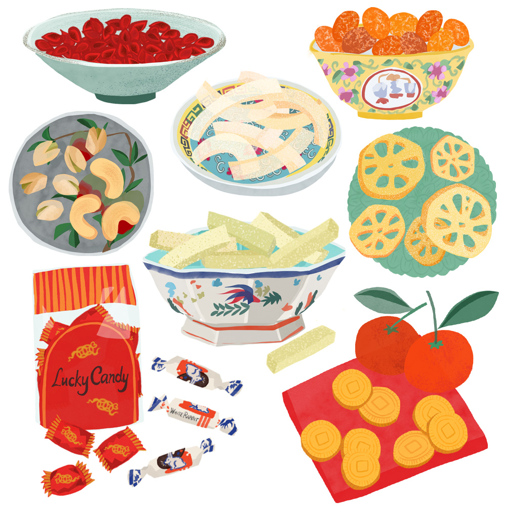 Flo Leung Chinese New Year Lucky Food Illustration.jpg
