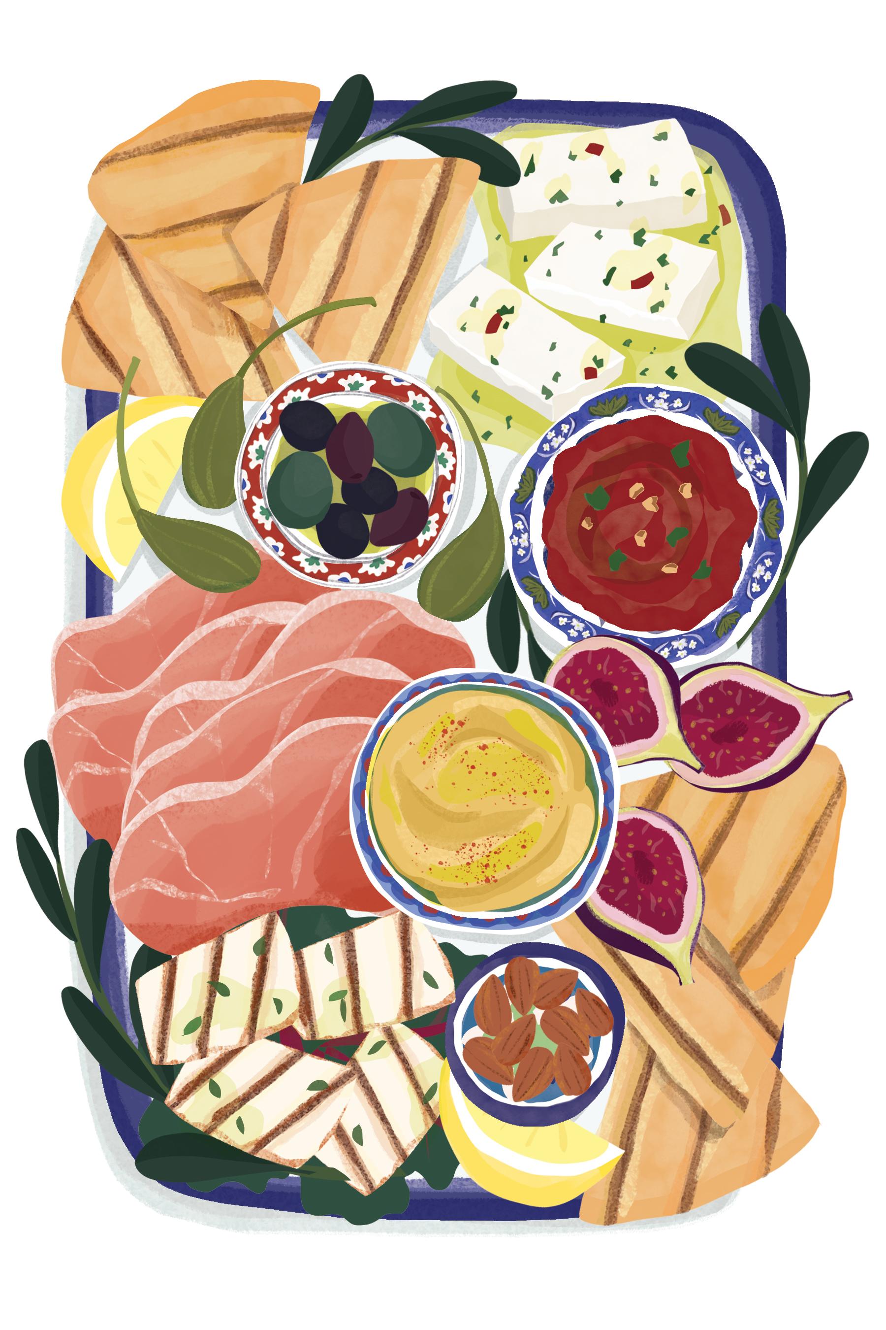 Mezze board Flo Leung illustration.jpg