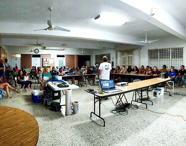 Thanks everyone who came out to the Lionfish Workshop and Festival these last two days! We were STOKED on the turn out from the community that wanted to know more about the #lionfish and how to handle them while spearfishing! Thank you all for your support of local science and for your interest in being a responsible fisher and supporting lionfish as a sustainable fish option!! . . And today at the festival, wow!! Thank you to our chefs from @visittamboo , @sana_farmtotable and @pastificio_gnecco for showing off your talents and incorporating lionfish into some delicious dishes! Every person that voted told us it was a tough decision, but congrats to Chef Nito at Sana on the win and the new commitment to incorporate lionfish in your menu next season! We hope to see lionfish on the menu in more of our Rincón restaurants too! . . Thank you to our volunteer divers and freedivers who participated in a very special permitted removal event at the marine reserve (remember, no fishing in Tres Palmas! This was done with a DNER permit). It was a blast meeting lots of new faces and friends as you eagerly jumped in to support this initiative. Thanks to @greatescapepr for donating the tanks! . Thank you to @seagrantpuertorico and @caribbeanfishery, Amigos de Tres Palmas, @recursosnaturalespr , FURA and the municipal support. Thanks to @harborrincon @cowboysrincon @visittamboo @rinconpaddleboards @the_uncharted_studio @rincon_of_the_seas @hotelvillacofresi for donating prizes! And most importantly, THANK YOU to our amazing community that participated in these outreach events. As always, we are eager for the next one!! Mil gracias a todos!! #puertorico #lionfish #caribbean #spearfishing #fishers #coral #letsdosomescience
