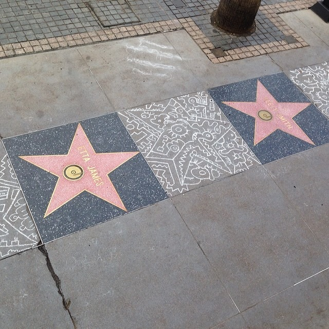 Chalk on Walk of fame LA.jpg