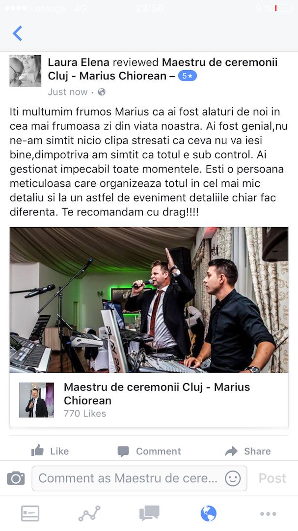 Staroste Cluj Marius Chiorean