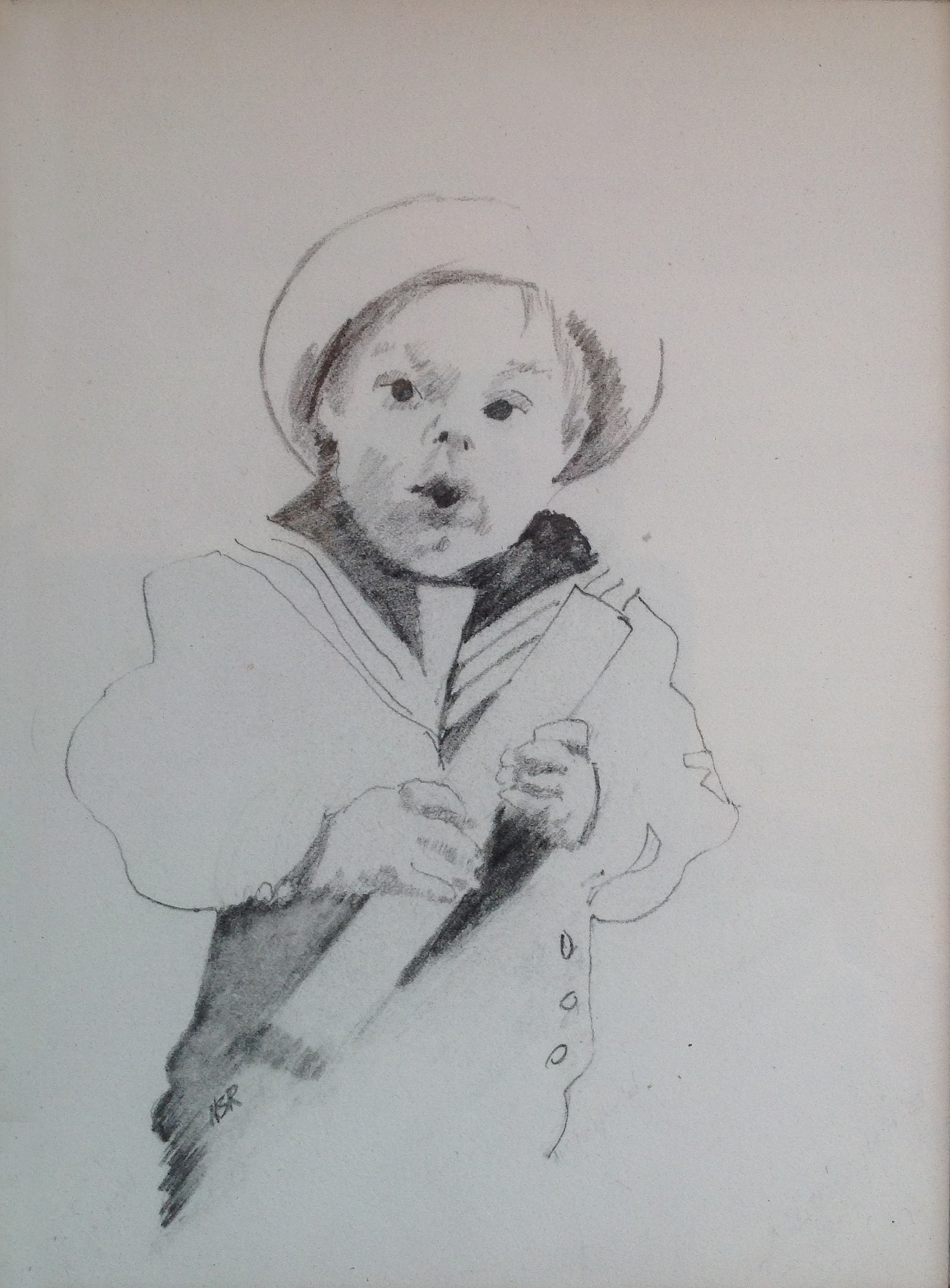 The Sailor Suit - 5 x 7 - Collection of Thomas and Mary Cook
