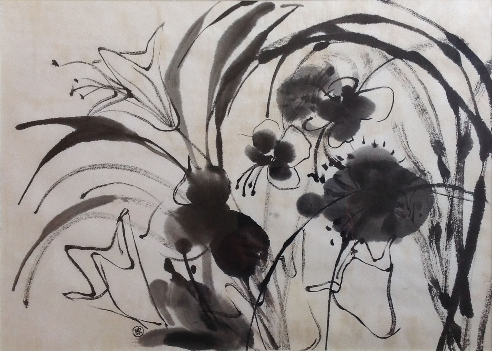 Sumi - 21.5 x 15 - Collection of Thomas and Mary Cook