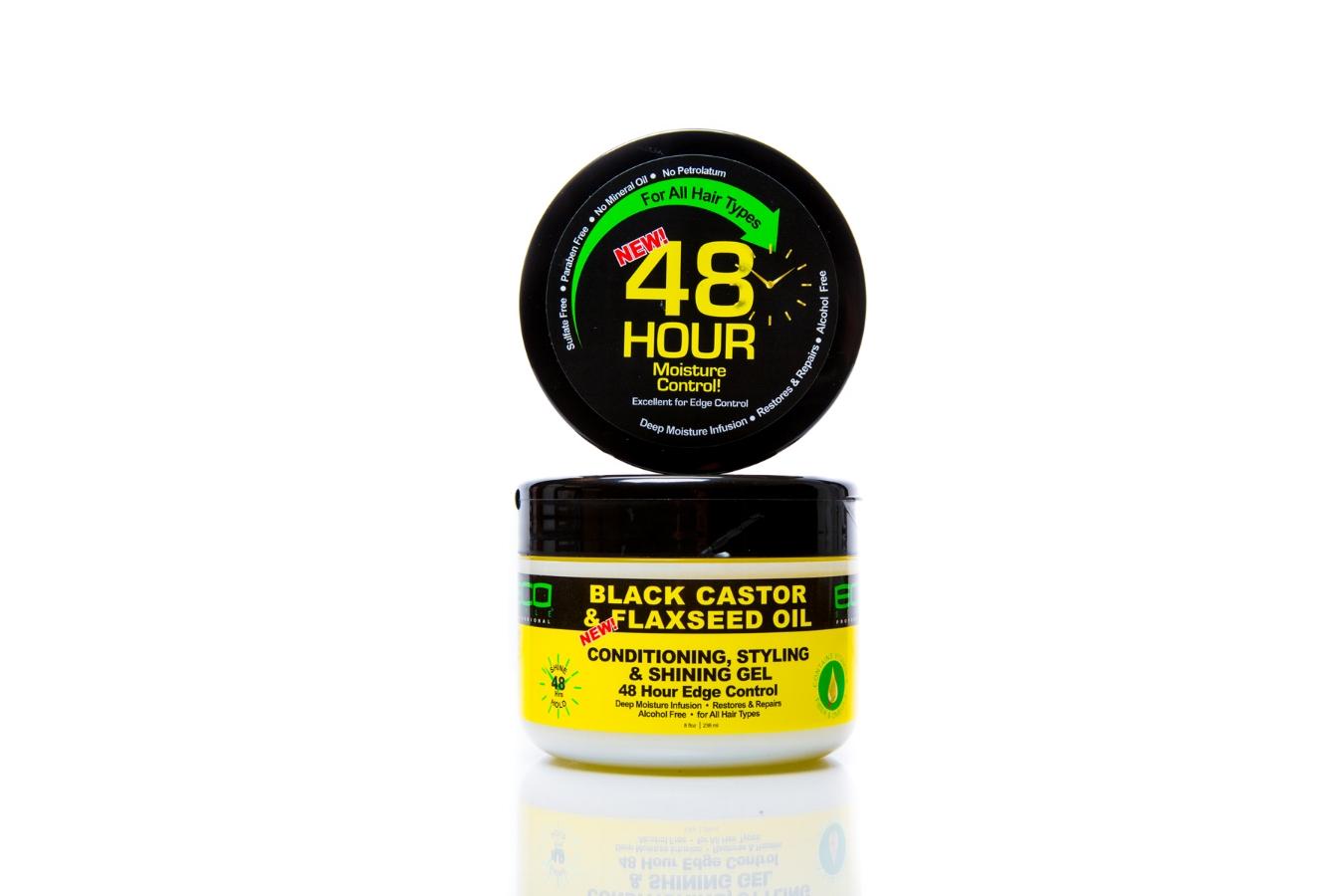 Black Castor & Flaxseed Oil Conditioning, Styling & Shining Gel.jpg