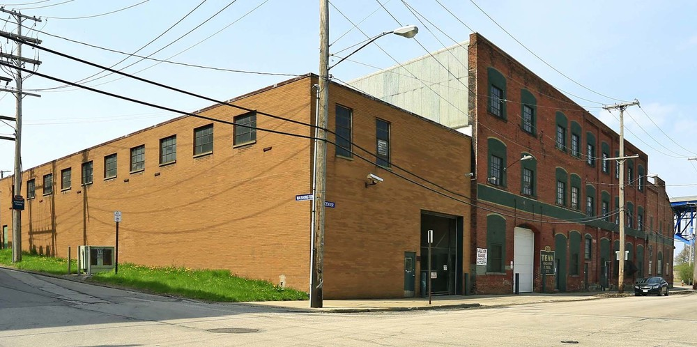 60,000sf mixed use industrial building acquired in 2014. Undergoing ongoing renovations, currently housing office tenants, leased as event space, and will be one of the sites for the upcoming RNC.