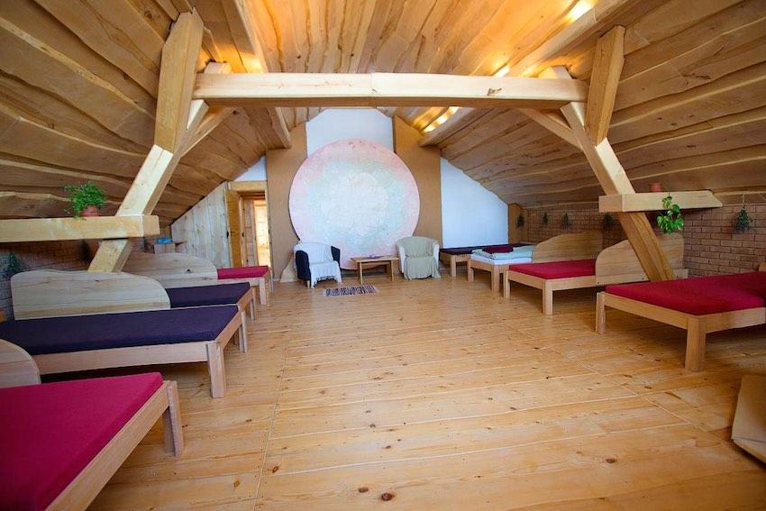 Sluneční vícelůžková ložnice (levnější ubytování)