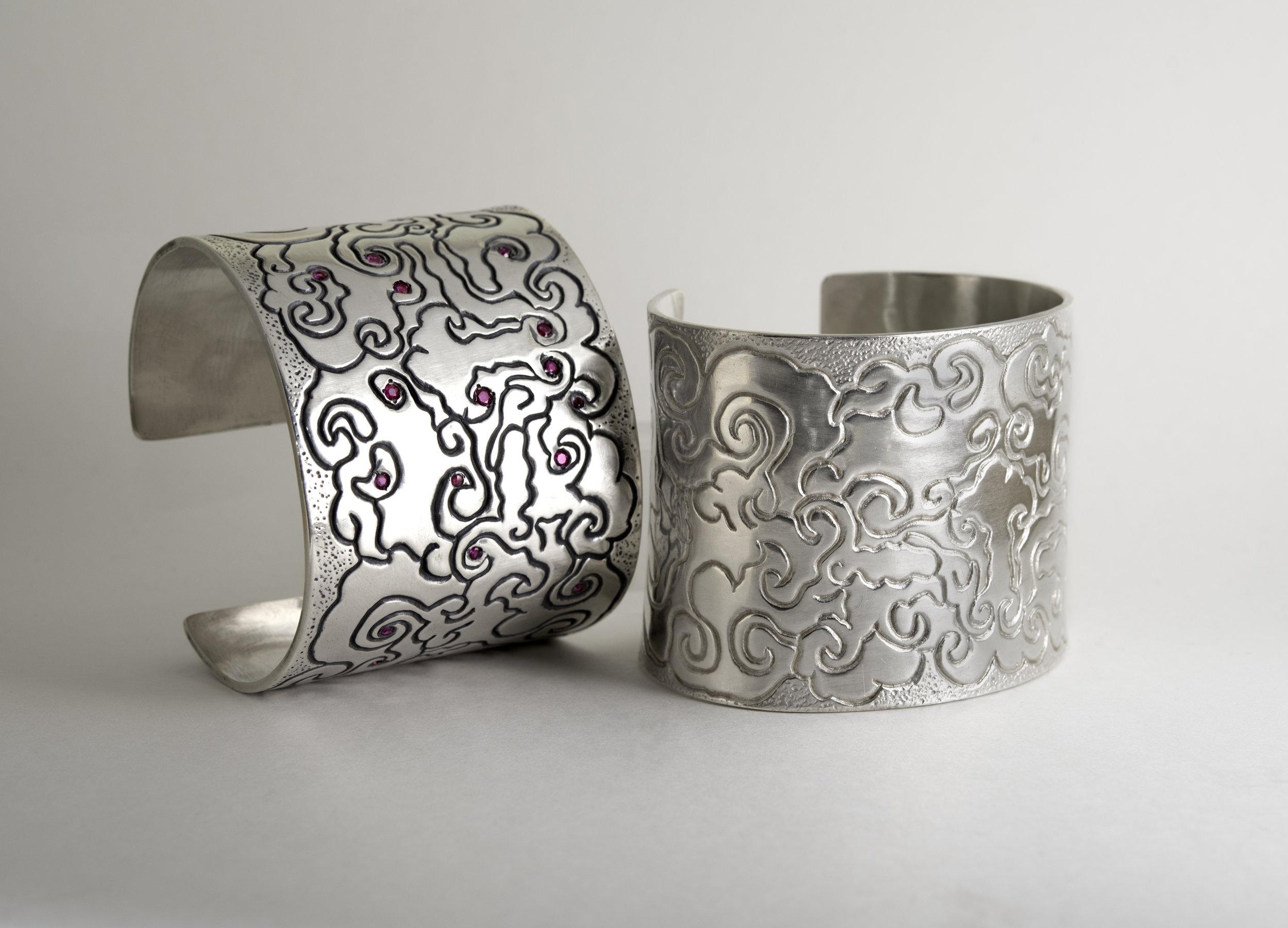 35.20Kt :14Kt  Sterling Silver Shell Earrings jpg.jpg