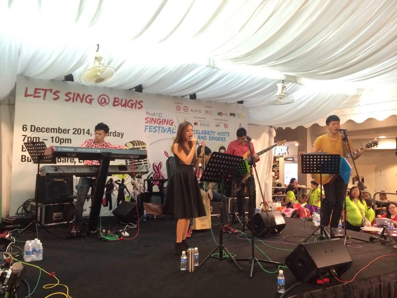 Let's Sing @ Bugis!