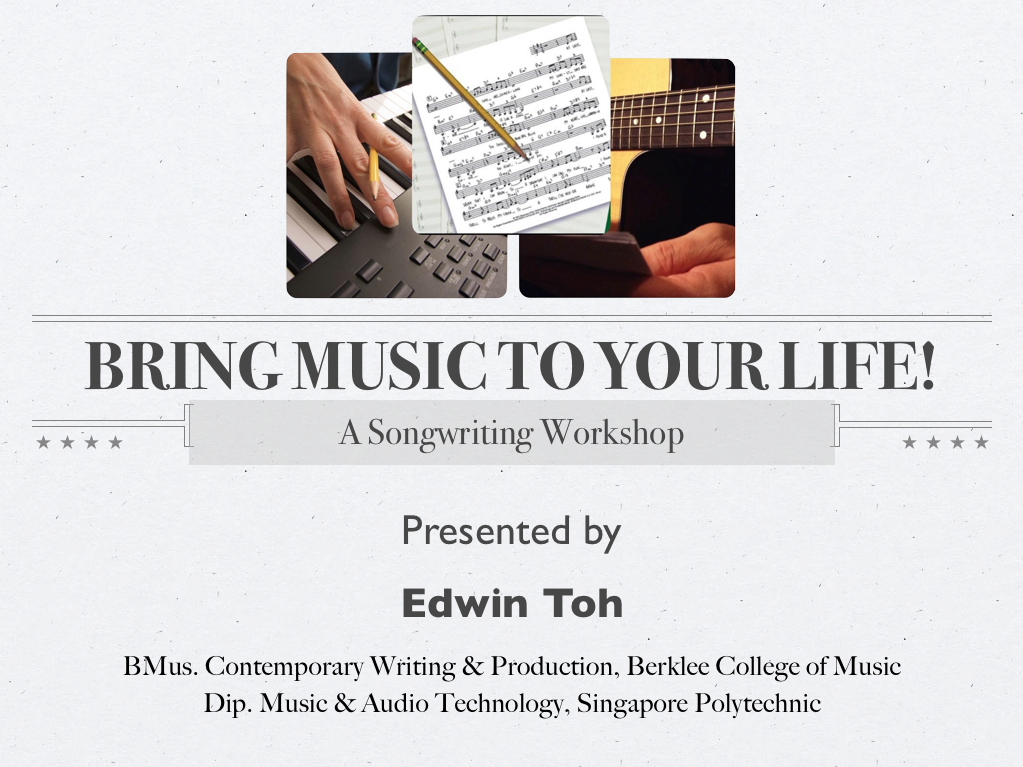 """Bring Music To Your Life"""