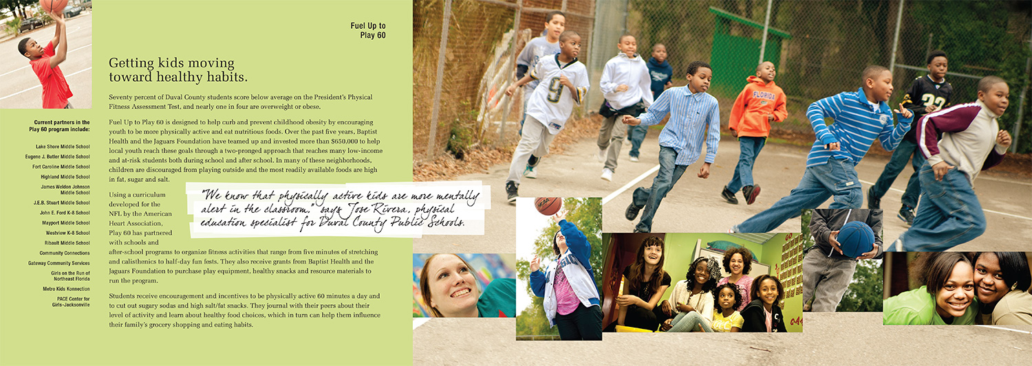 Baptist Health - Community Benefit, Annual Report