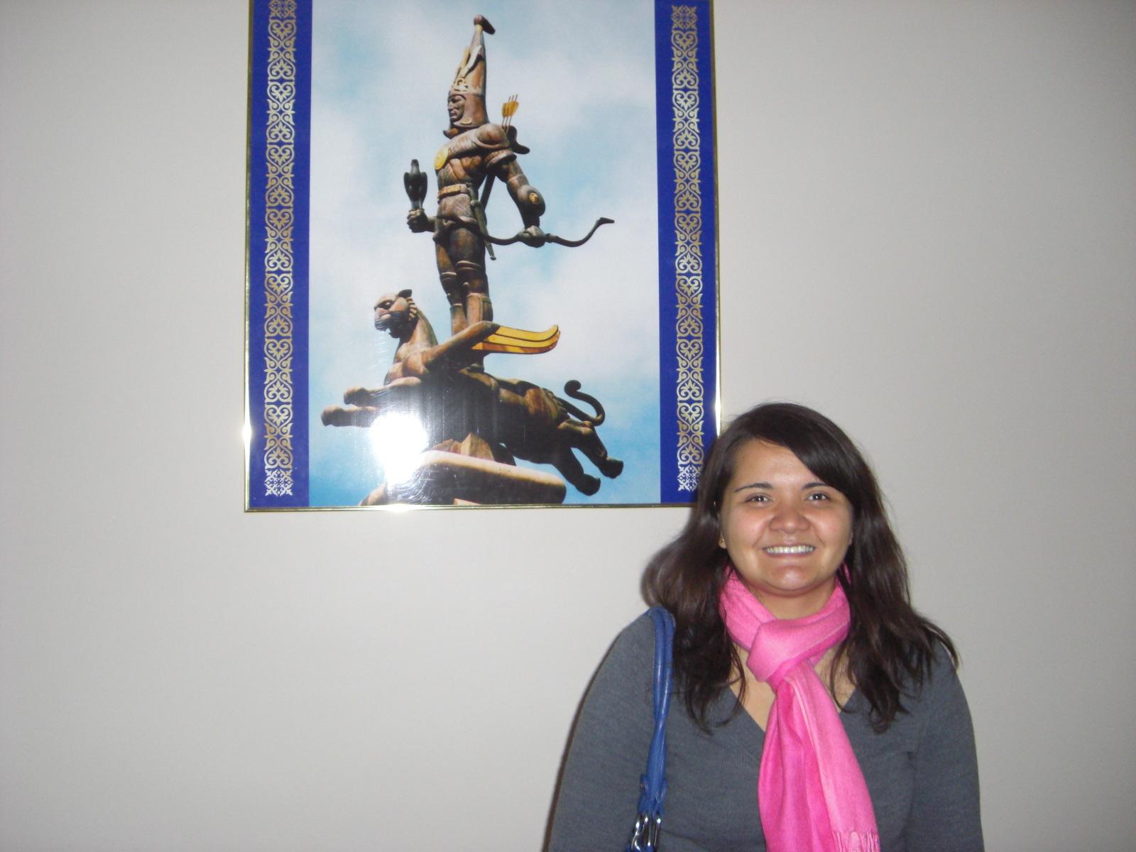 Catherine Molleno in Kazakhstan
