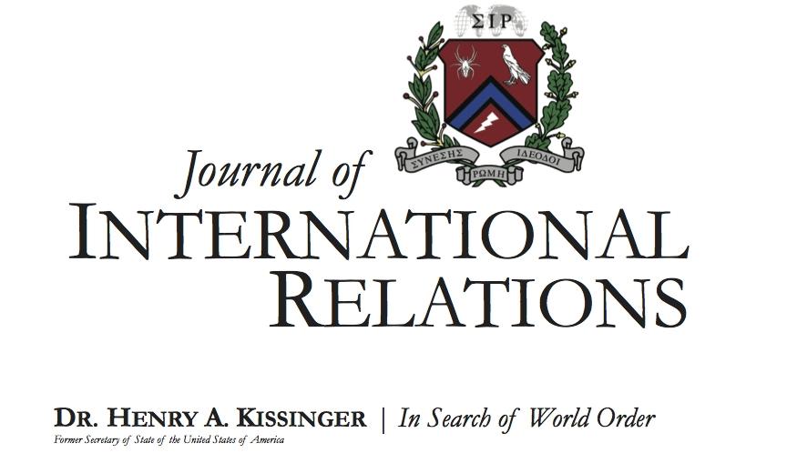 Journal of International Relations
