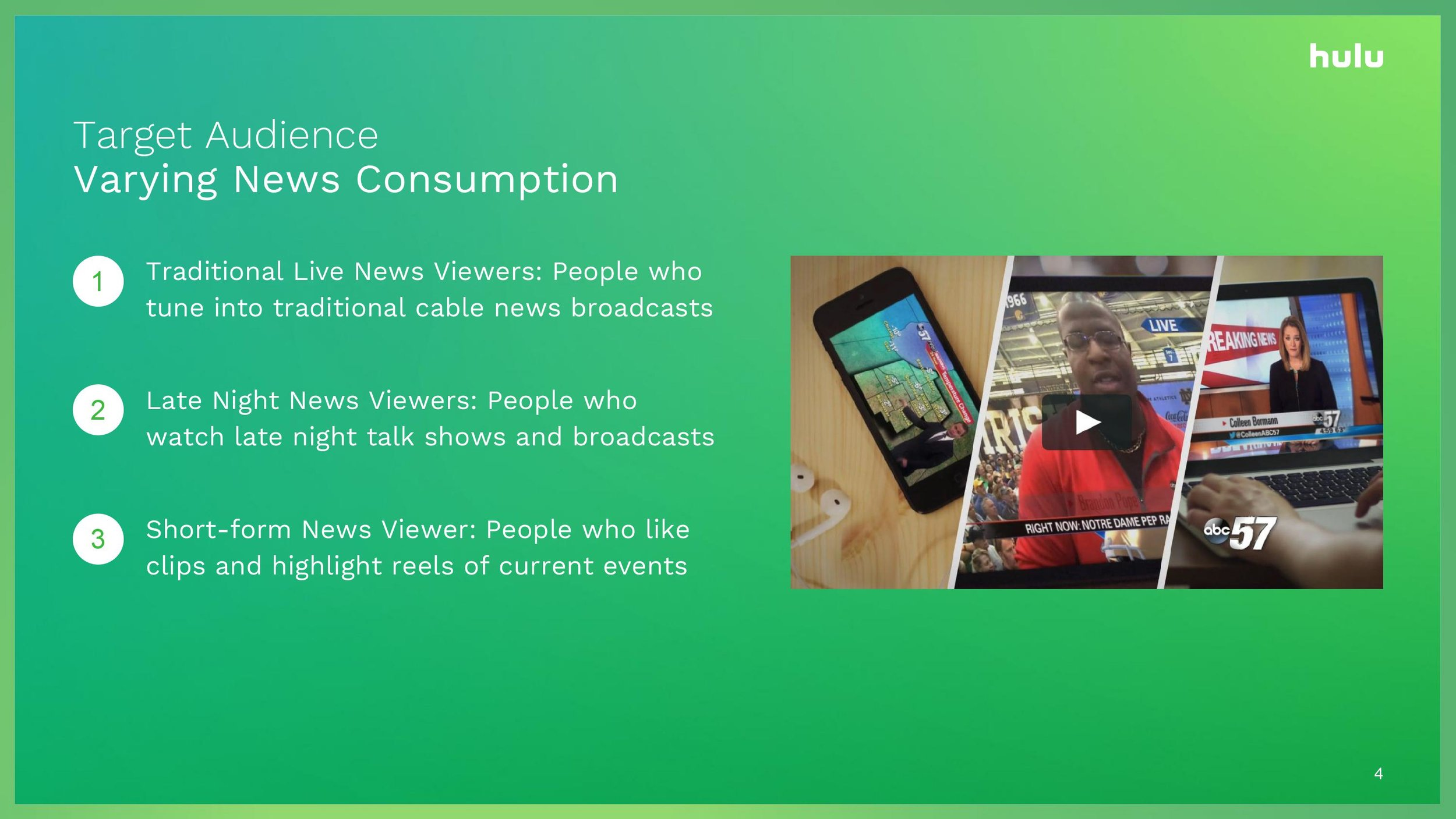 Hulu UX: Top Stories — tiffany jiang