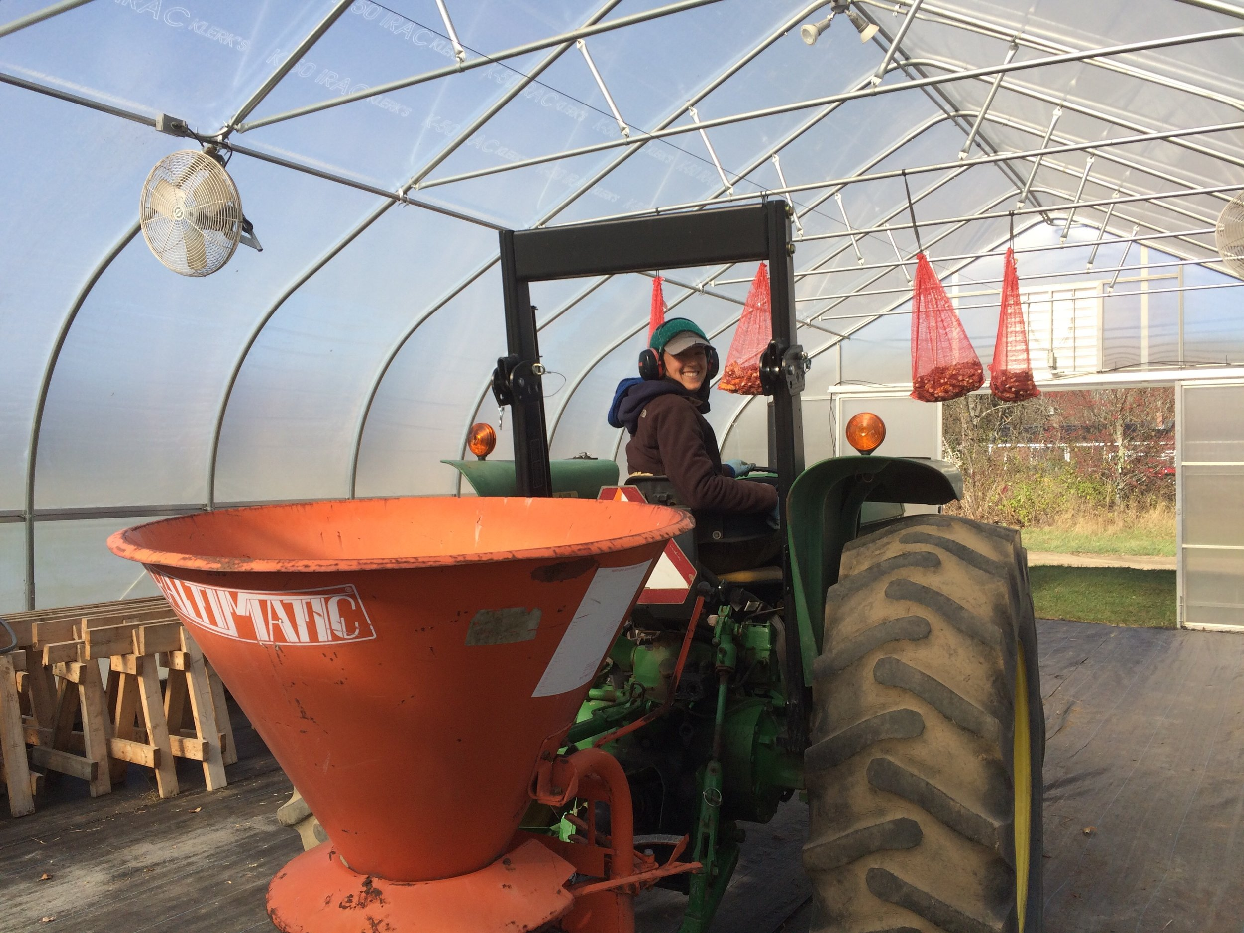 We've been spending our days cleaning up the fields, crop planning and tucking away much of our equipment in the greenhouse for winter. We'll be taking a break from those tasks this week to harvest and open the store for one last day!