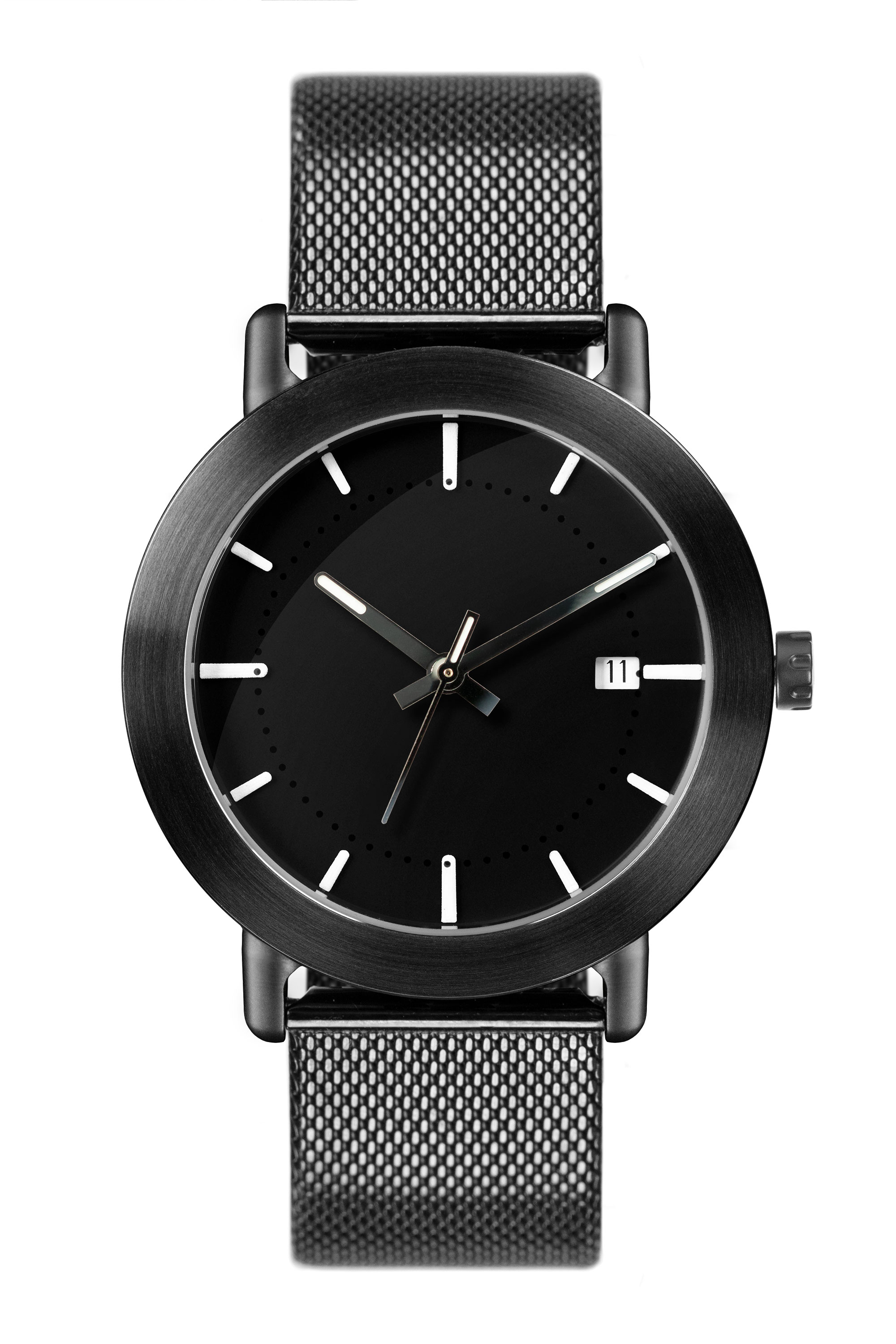 Black PVD coated Stainless Steel