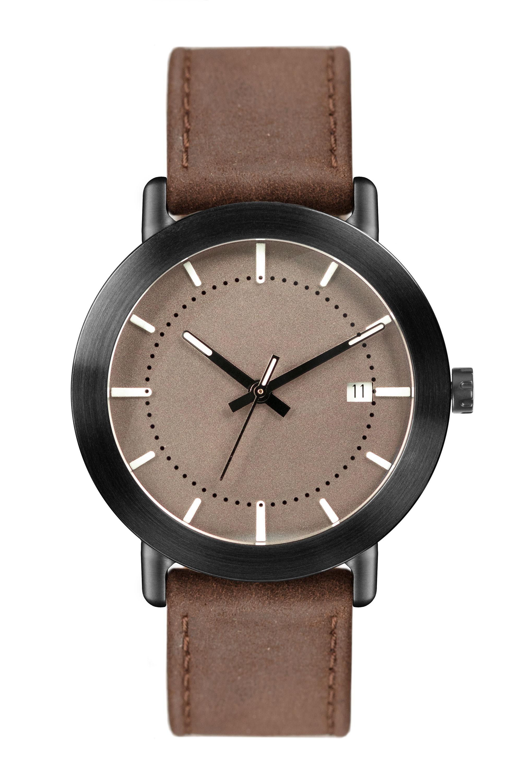 Dark Brown Leather