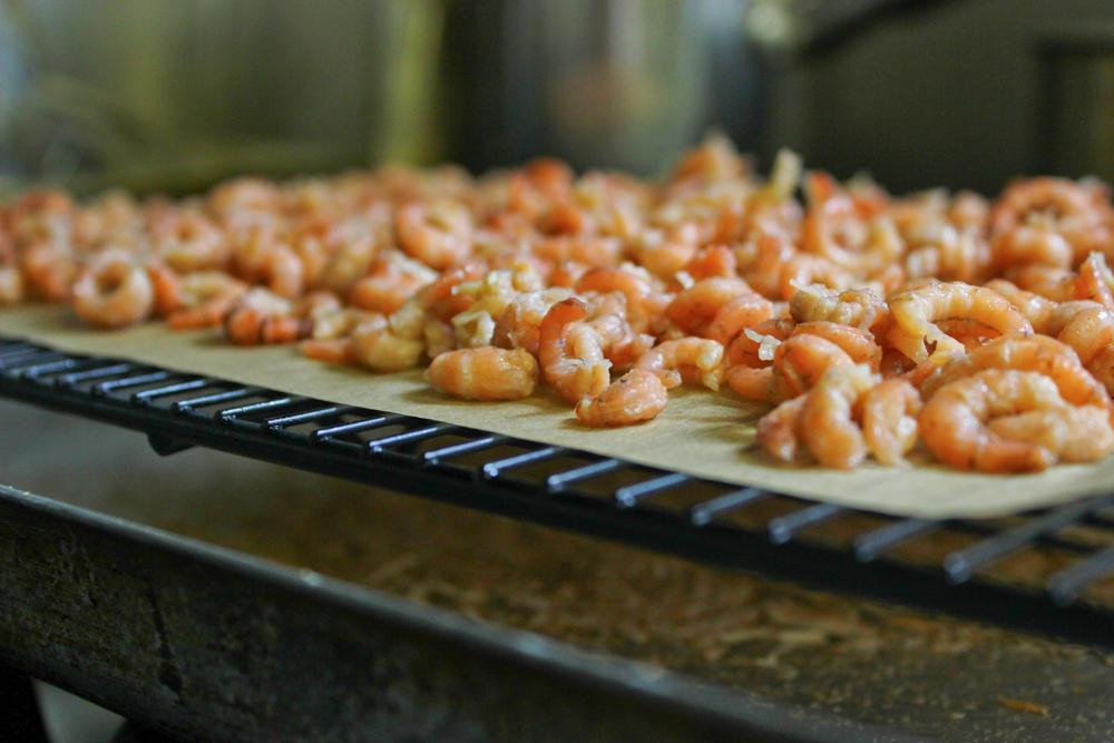Smoked Morecambe Bay shrimps