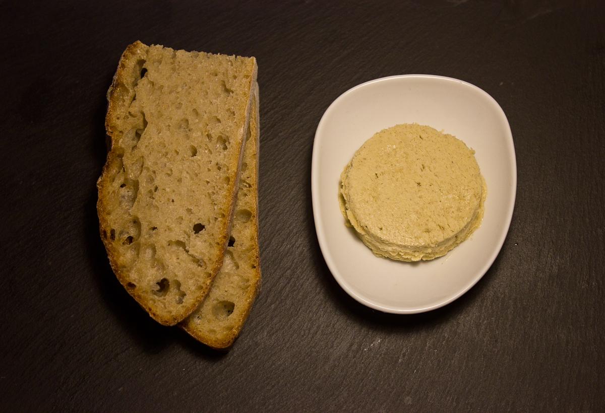 High Easter sourdough, hay butter