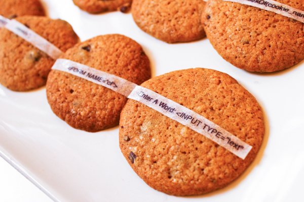Cookies/Cookies - Wholegrain Cookies with edible 'cookies' (internet)