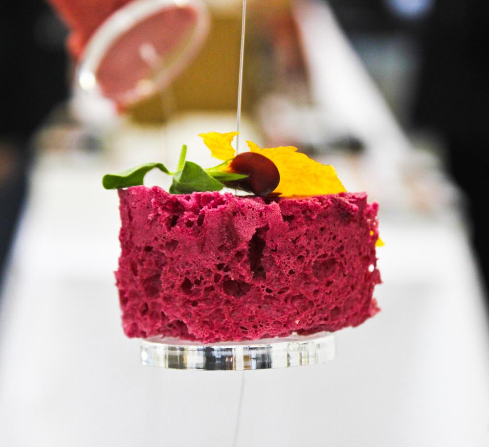 Experimental Food Society Cake, November 2011