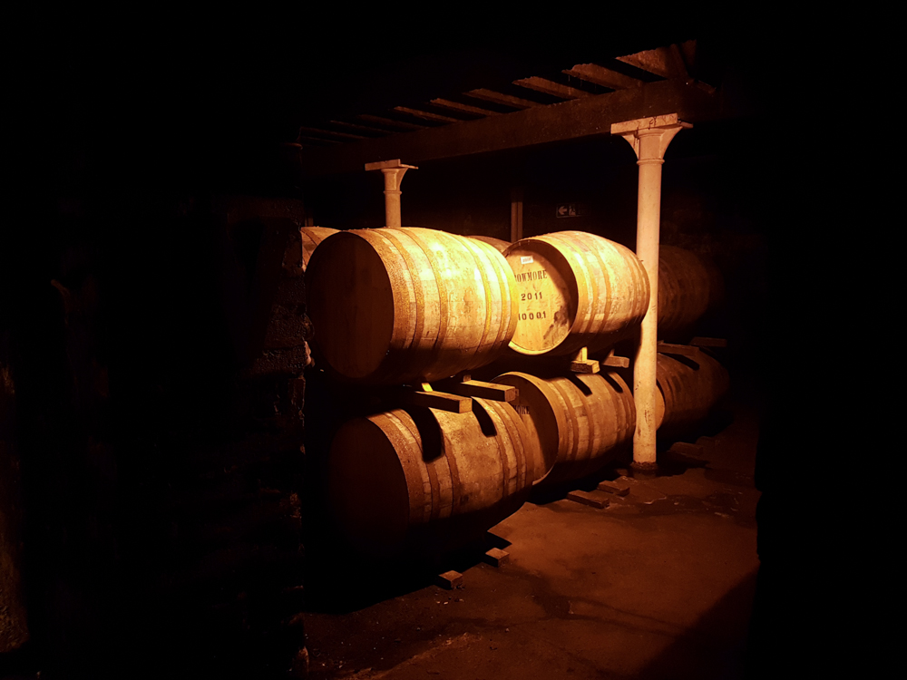 The No.1 Vault, in continuous use as a maturation cellar since 1779.