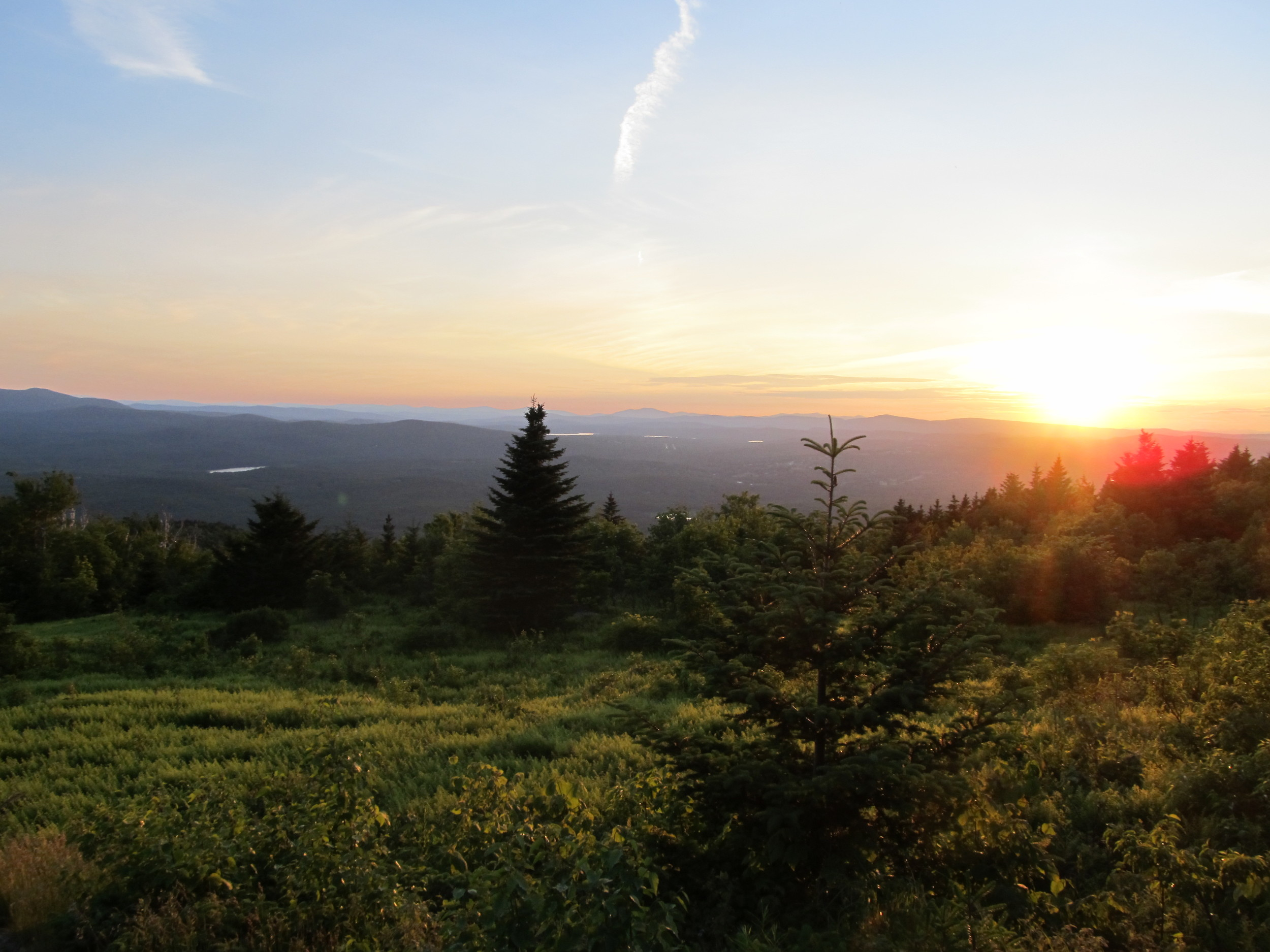 Sunset from Mt. Kearsarge