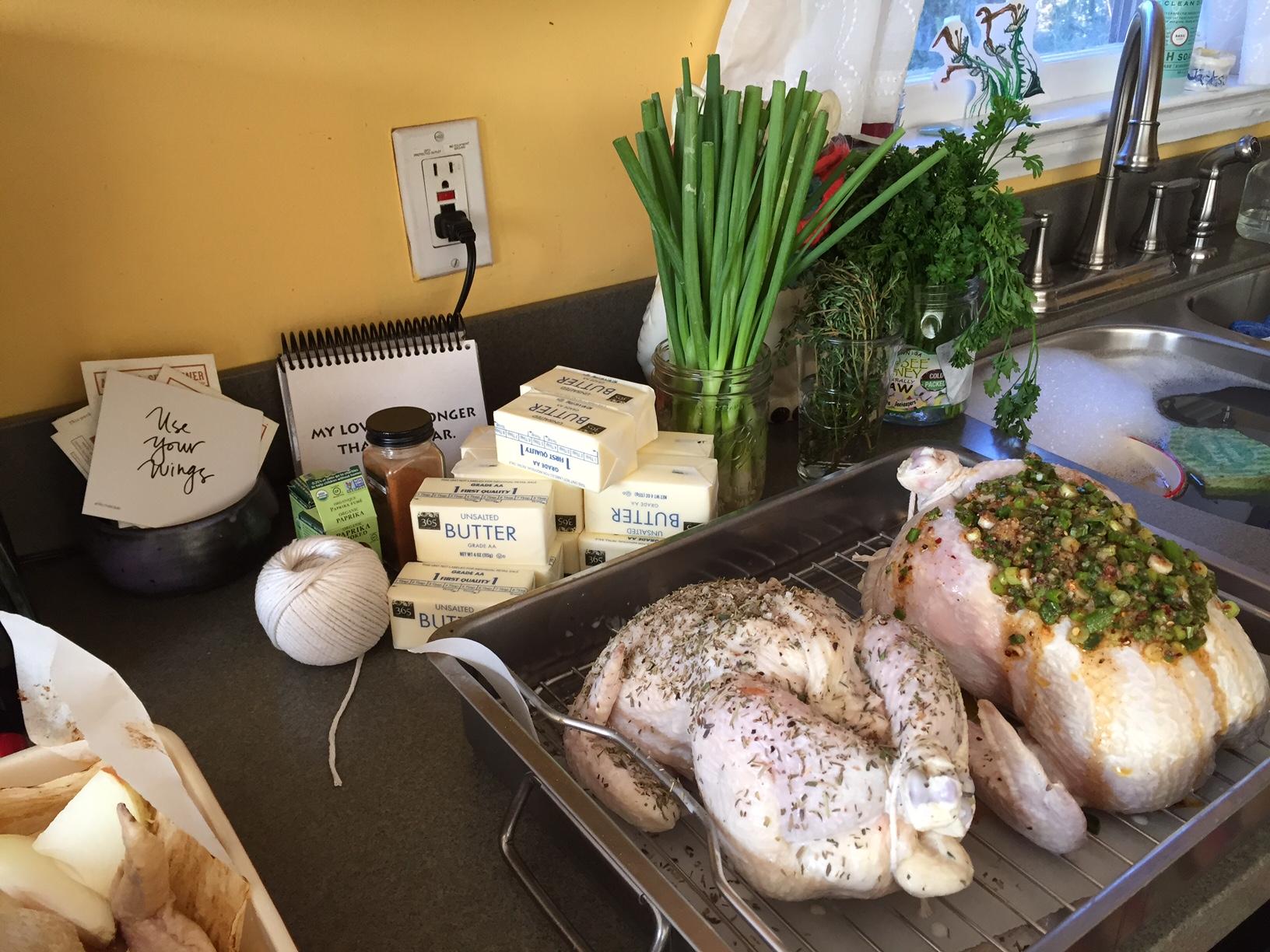 chicken roasting workshop