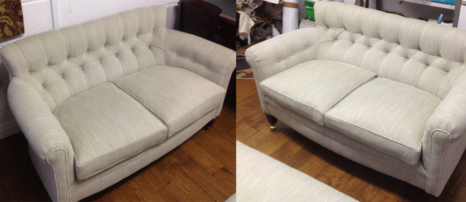 Reproduction Victorian Chairs - A replica chair and sofa to match