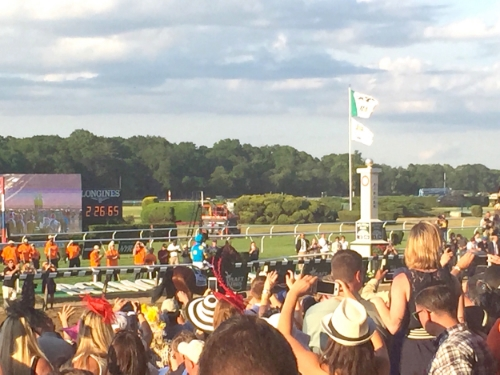 Anna Osgoodby NYC Living :: American Pharaoh Makes History at Belmont