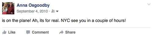Anna Osgoodby NYC Living :: 5th NYC-versary