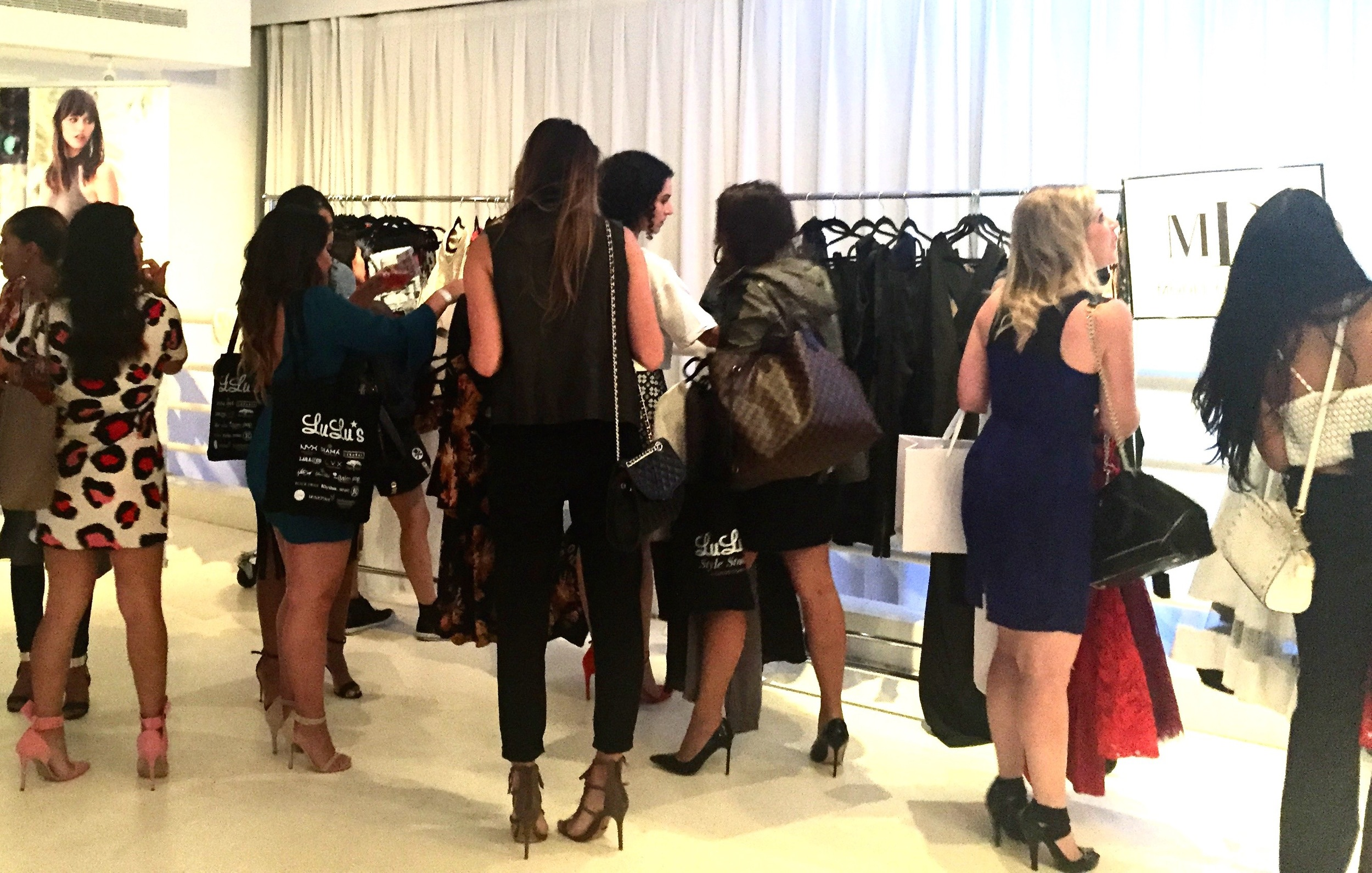 Anna Osgoodby NYC Living :: Lulu's Style Studio at NYFW