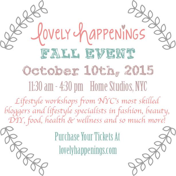 Anna Osgoodby NYC Living :: Lovely Happenings Event