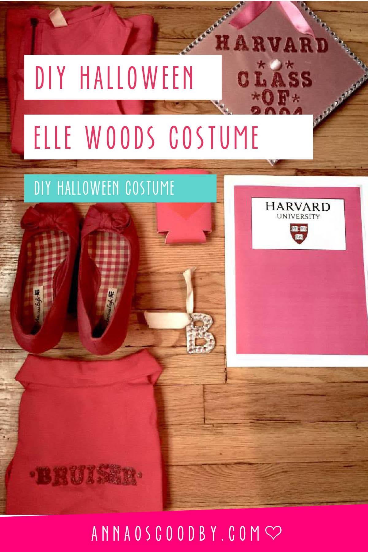 Anna Osgoodby Life + Design :: DIY Halloween Costume Elle Woods