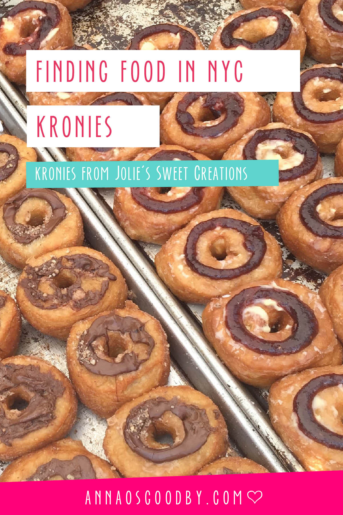 Anna Osgoodby Life + Design :: Finding Food in NYC Jolie's Sweet Creations' Kronies