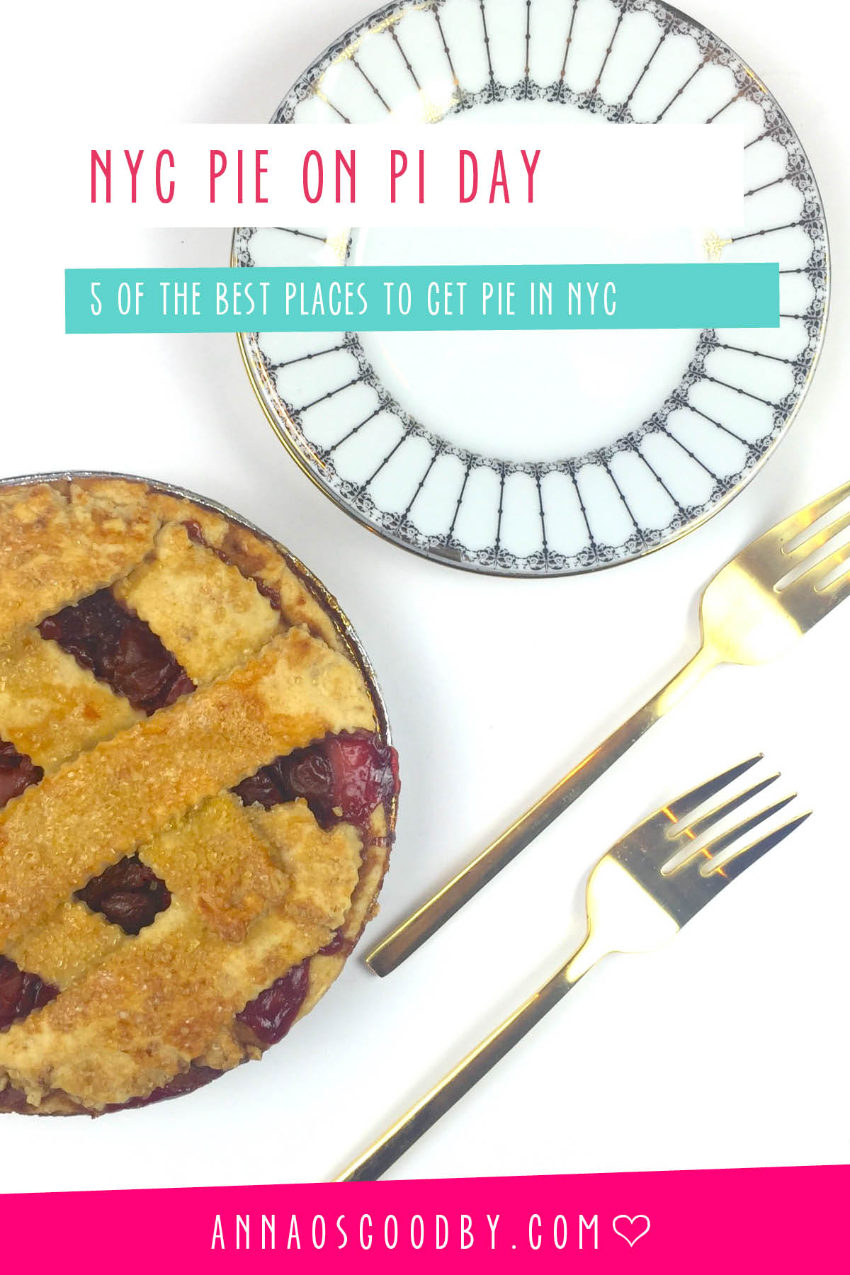Anna Osgoodby Life + Design :: NYC Pie on Pi Day -- 5 of the Best Places to get Pie in NYC