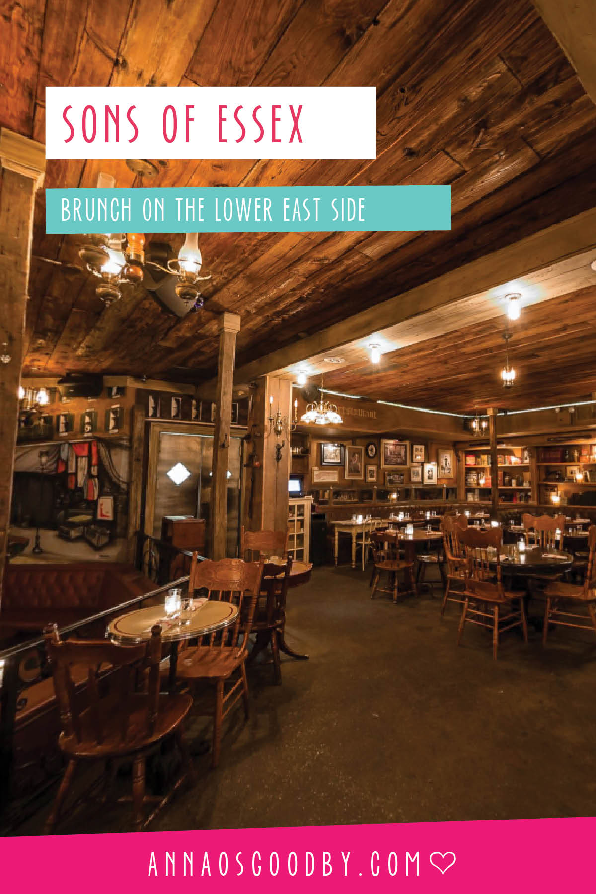 Anna Osgoodby Life + Design :: Brunch at Sons of Essex on the Lower East Side