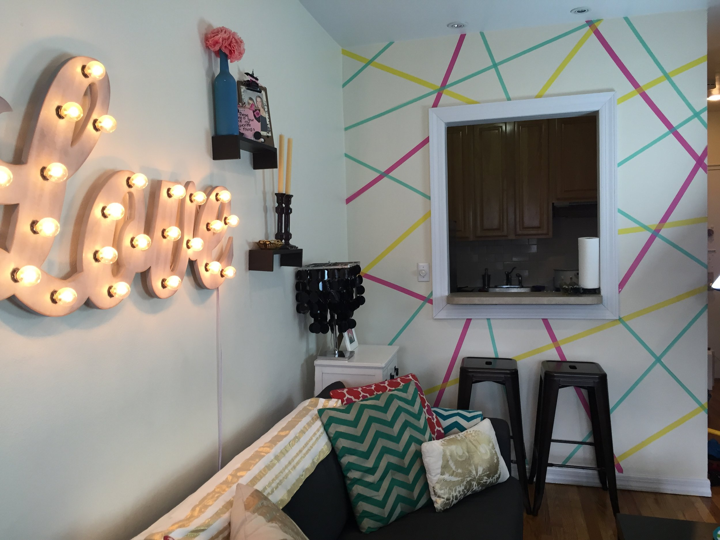 Anna Osgoodby Life + Design :: Marquee Love Light -- Studio Decor Update