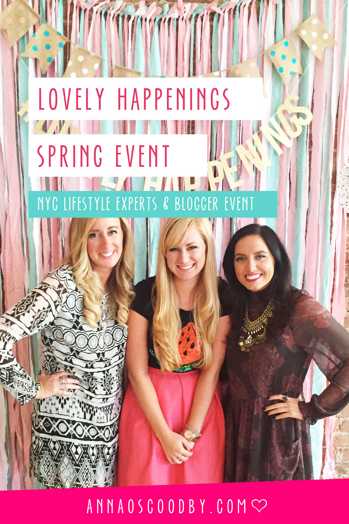 Anna Osgoodby Life + Design ::  Lovely Happenings Spring Event
