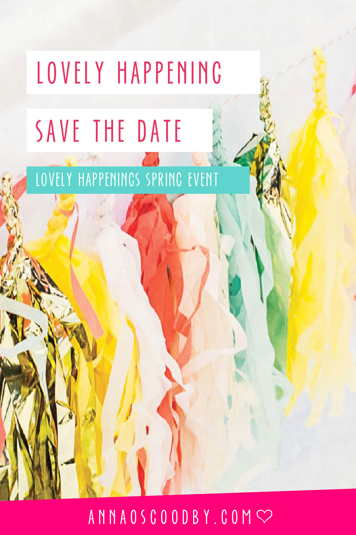 Anna Osgoodby Life + Design :: Lovely Happenings Event