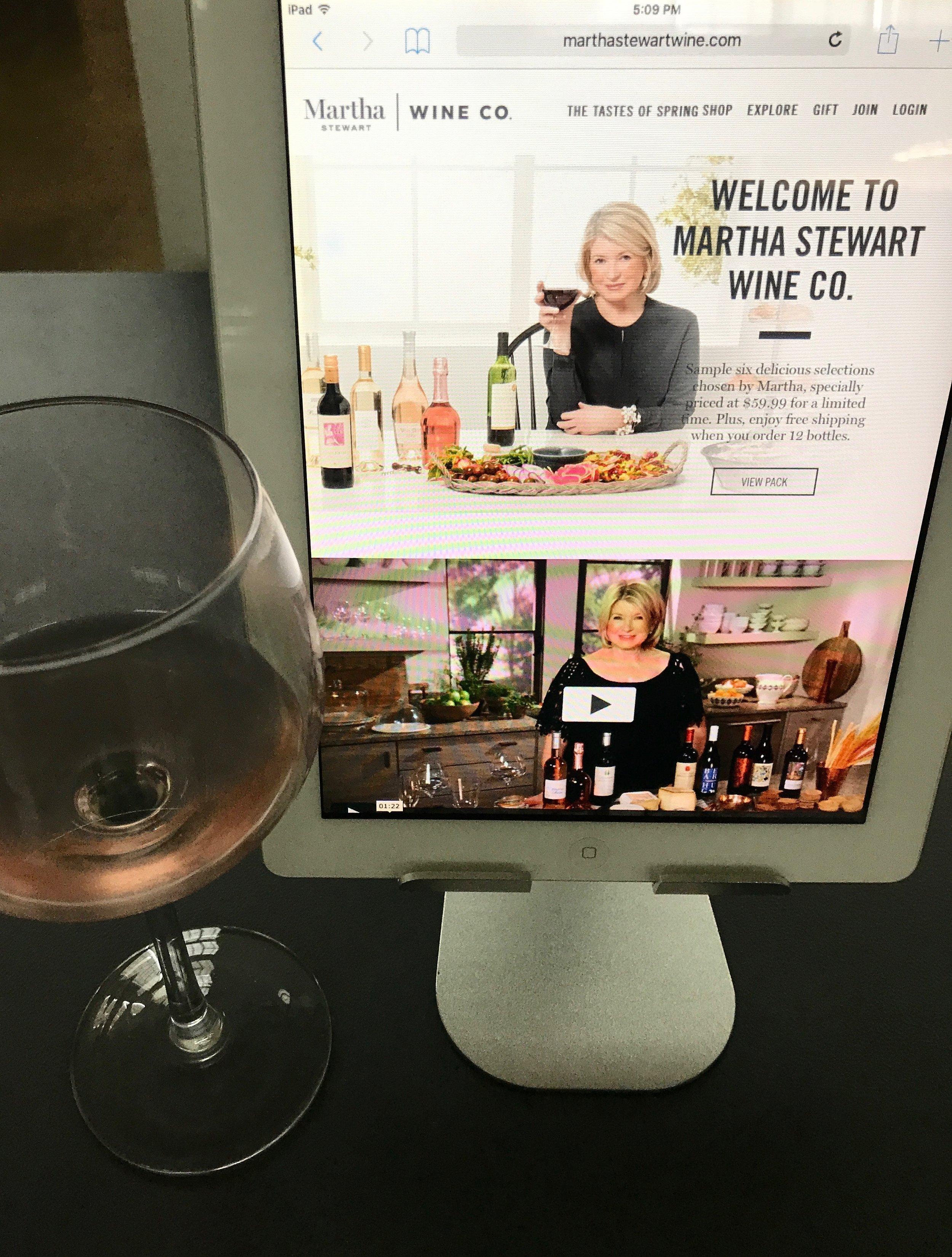 Anna Osgoodby Life + Design NYC Lifestyle Blog : Introducing Martha Stewart Wine Co.