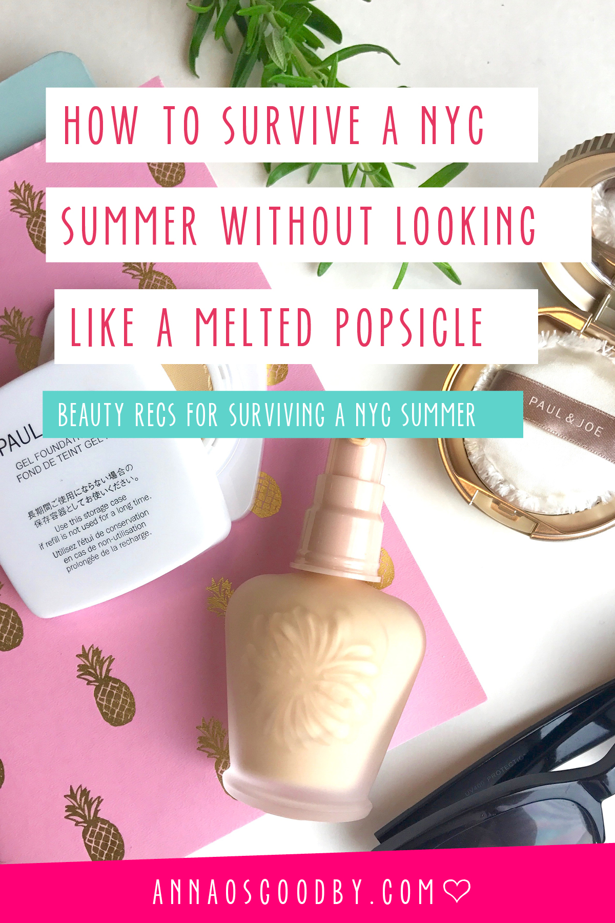 Anna Osgoodby Life + Design NYC Lifestyle Blog :: How to Survive a NYC Summer Without Looking Like a Melted Popsicle