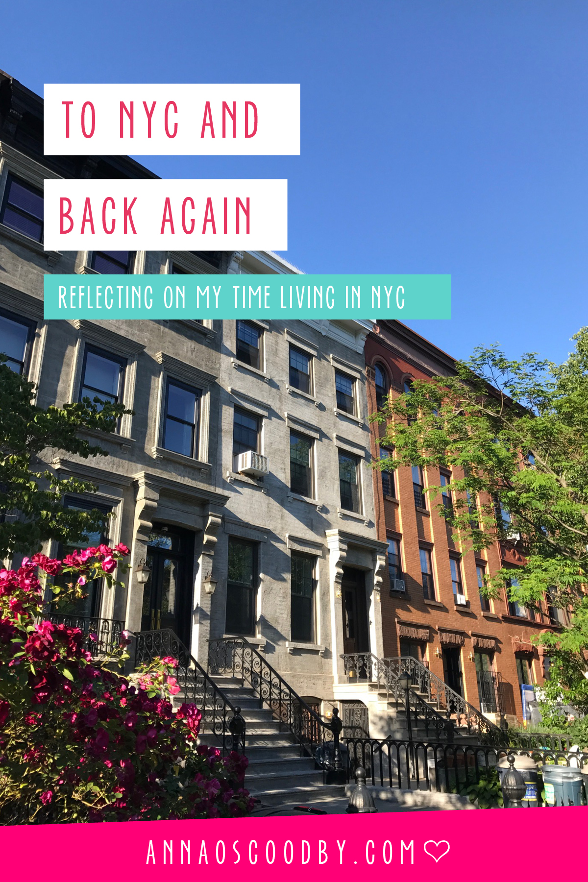 Anna Osgoodby Life + Design : To NYC and Back Again