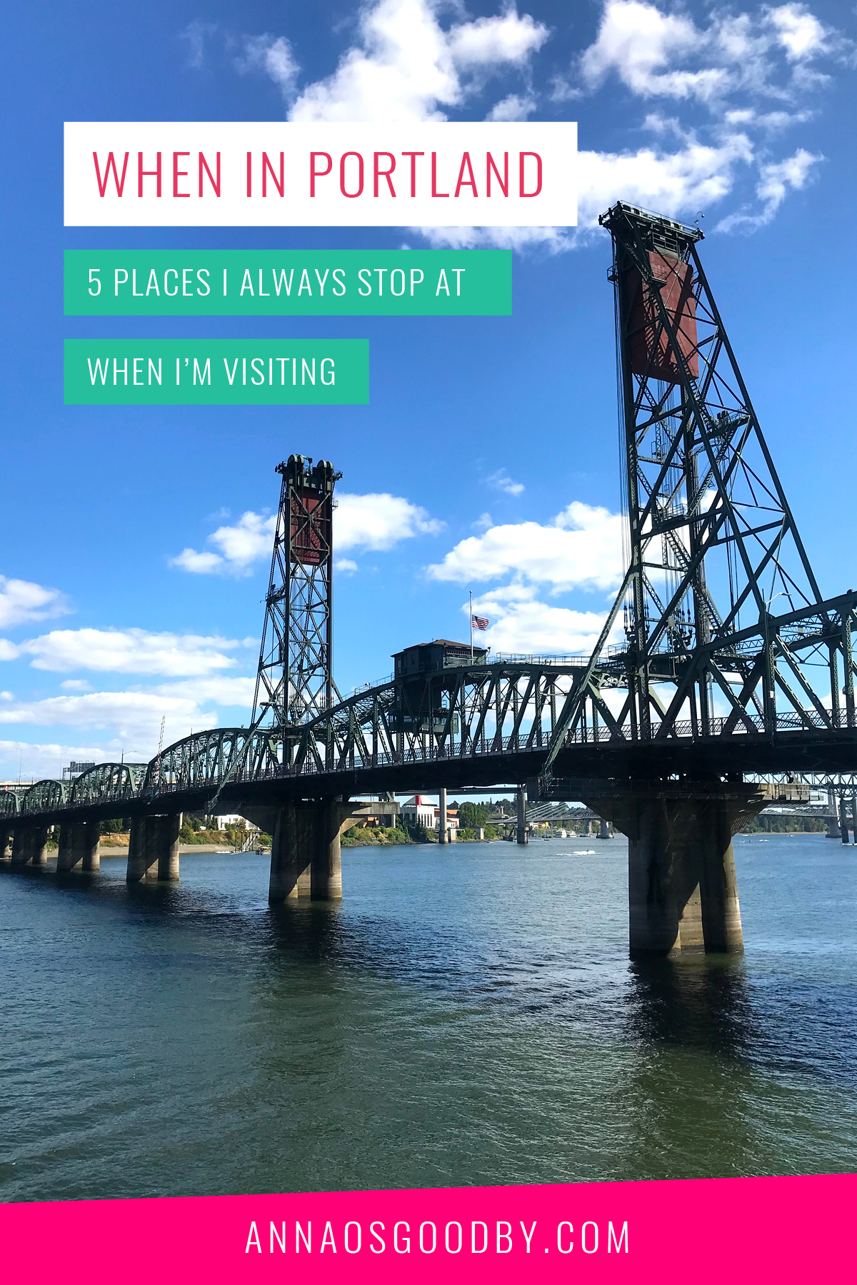 Anna Osgoodby Life + Design : When in Portland! 5 Places I Always Stop at When I'm Visiting